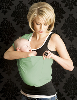 fb840d488cf Seven baby sling how to use